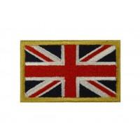 0135 Patch emblema bordado 6X3,7 bandeira REINO UNIDO UNION JACK