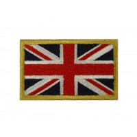 Patch emblema bordado 6X3,7 bandeira REINO UNIDO UNION JACK