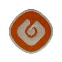 0694 Patch emblema bordado 6X6 GALP