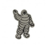 0698 Patch emblema bordado 6x4 MICHELIN BIBENDUM
