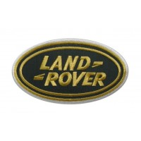 0704 Patch emblema bordado 13x7 LAND ROVER