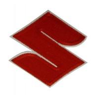 0712 Patch écusson brodé 10x10 SUZUKI