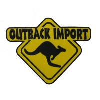 0050 Embroidered patch 20x15 OUTBACK IMPORT