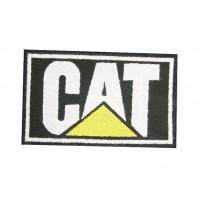0725 Patch emblema bordado 10x6 CAT CATERPILLAR