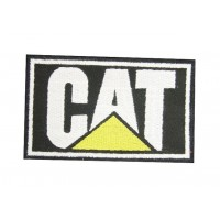 Patch emblema bordado 10x6 CAT CATERPILLAR