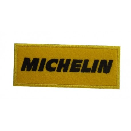 Embroidered patch 10x4 Michelin
