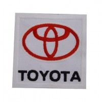 Embroidered patch 7x7 Toyota