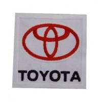 Patch emblema bordado 7x7 Toyota