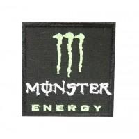 0735 Patch emblema bordado 7x7 Monster Energy