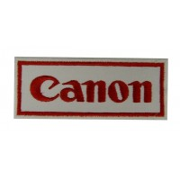 0737 Embroidered patch sew on 10x4 CANON
