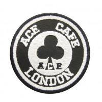 0738 Embroidered patch 7x7 ACE CAFE LONDON