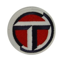 0740 Embroidered patch 7x7 TALBOT