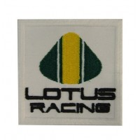 0741 Embroidered patch 7x7 LOTUS RACING