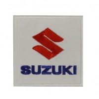 Patch écusson brodé 7x7 Suzuki