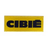 0760 Patch emblema bordado 10x4 CIBIÉ
