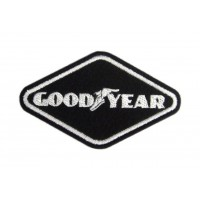 0762 Patch emblema bordado 9x5 GOODYEAR
