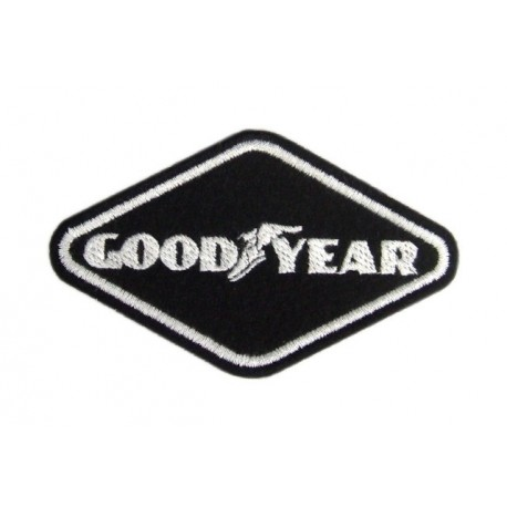 Embroidered patch 9x5 GOODYEAR