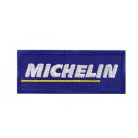 0072 Embroidered patch 10x4 MICHELIN