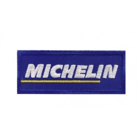 Patch emblema bordado 10x4 Michelin