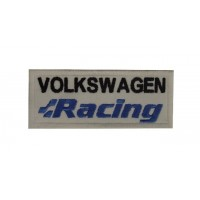 0763 Patch emblema bordado 10x4 VW VOLKSWAGEN RACING