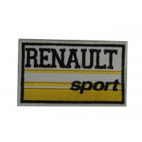 0764 Patch emblema bordado 10x6 RENAULT SPORT