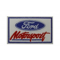 0767 Embroidered patch 10x6  FORD MOTORSPORT