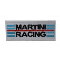 Patch écusson brodé 10x4 Martini Racing