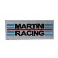 Patch emblema bordado 10x4 Martini Racing