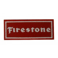 0771 Embroidered patch 10x4 FIRESTONE