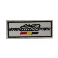 0778 Embroidered patch 10x4 MUGEN POWER