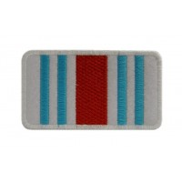 0780 Patch emblema bordado 8x4 CORES MARTINI RACING