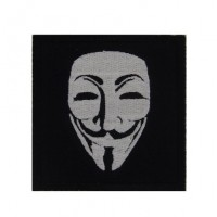 Patch emblema bordado 7x7 WE ARE ANONYMOUS