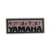 0783 Embroidered patch 10x4  YAMAHA MOTORSPORT
