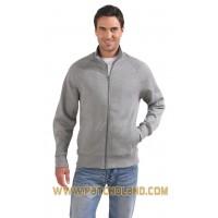 0792 Men's zipped jacket