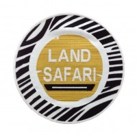 0826 Embroidered patch 22x22 LAND SAFARI SENEGAL