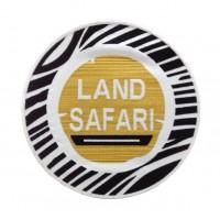 0826 Patch emblema bordado 22x22 LAND SAFARI SENEGAL