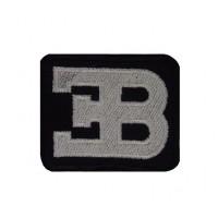 0828 Patch emblema bordado 6x5 ETTORE BUGATTI