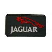 0556 Embroidered patch 8x4 JAGUAR