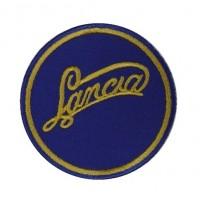 0829 Patch emblema bordado 7x7 LANCIA 1907