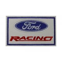0832 Patch emblema bordado 10x6 FORD RACING
