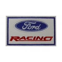 0832 Patch emblema bordado 10x6 FORD RACING