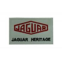 0837 Patch emblema bordado 10x6 JAGUAR HERITAGE