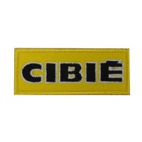 0840 Patch emblema bordado 10x4 CIBIÉ