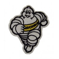0844 Patch écusson brodé 9x7 MICHELIN BIBENDUM jaune