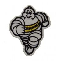 0844 Patch emblema bordado 9x7 MICHELIN BIBENDUM amarillo
