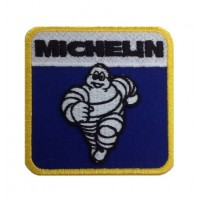 0846 Patch écusson brodé 8x8 MICHELIN BIBENDUM