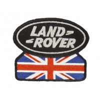 0581 Embroidered patch 9x7 LAND ROVER UNION JACK