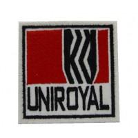 0850 Parche emblema bordado 7x7 UNIROYAL