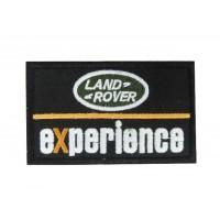 0855 Patch écusson brodé 10x6 LAND ROVER EXPERIENCE
