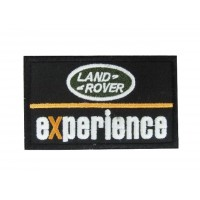 0855 Patch emblema bordado 10x6 LAND ROVER EXPERIENCE